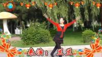 沈北新区喜洋洋广场舞-草原上的月光ok表演兰兰