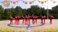 沈北新区喜洋洋广场舞-《圣地拉萨》12人