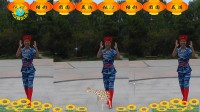 沈北新区喜洋洋广场舞-坐上高铁去北京-个人-版表演-喜洋洋