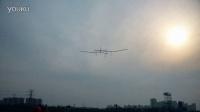 天津理工无人机工作室太阳能试飞