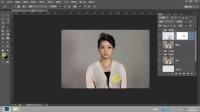 photoshop双曲线磨皮03