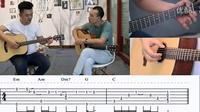【火花吉他】-《我只在乎你吉他教学》