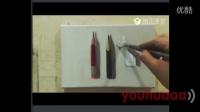 写实油画静物教学视频-铅笔