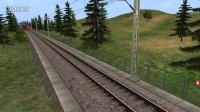 TRS12 DF7C牵引老K矿渣车 trainz12