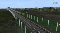 TRS12 牵引西子号25Z快速通过 trainz12