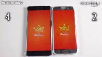 小米Note 2 vs Galaxy S7 Edge - 速度對比 - 性能對比!@成近田