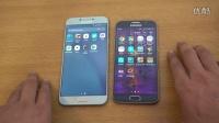 三星 Galaxy A8 (2016) vs Galaxy S6 - 速度對比 - 評測視頻!@成近田