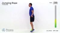 【英文】跳绳减肥法,让你更自信