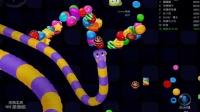 【隔壁老王】解说|小游戏EP1|蛇蛇争霸|第三永远属于老王