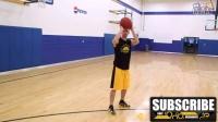 篮球技术教学第42课 Chris Paul保罗后胯下撤步投篮动作Step Back Move