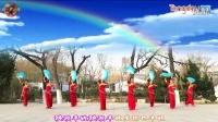 刘荣广场舞《秧歌扭起来》简单的秧歌舞