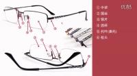平面CAD眼镜绘图视频教程 第1课:眼镜的认识
