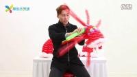 001 气球造型-圣诞帽编织款-2
