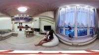360 VR 全景 虚拟现实 超性感VR girl独自在家。。。
