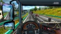 【洛神】欧洲卡车模拟2-中国地图-天门山+联机(第二期)