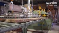 #Warwick Production#Precutting Section - Cross-cut machine