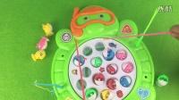 忍者神龟钓鱼玩具视频