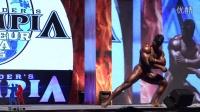 男子传统健美100公斤以上级决赛221号个人展示[亚洲形体&墨立方]