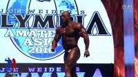 男子传统健美100公斤以上级决赛223号个人展示[亚洲形体&墨立方]