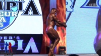 男子传统健美100公斤以上级决赛224号个人展示[亚洲形体&墨立方]
