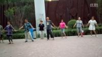 西宁三角花园藏族锅庄视频5《幸福之歌》