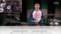 《一周节奏型速成》第一课 底鼓正拍节奏型 架子鼓教学 鼓手工厂出品