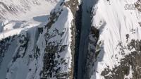 """直升机滑雪穿越""""一线天"""" 这是用生命在滑雪!"""