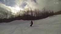 没有人会随随便便成功 4岁萌宝告诉你滑雪天才是这样炼成的