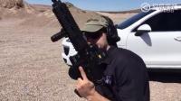 HK416自动步枪的射击测试