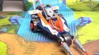 【细节鉴赏】LEGO 乐高 70348 未来骑士团 兰斯的变形冲锋长枪战车
