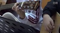 学生作品展 吉他弹唱 月亮代表我的心 李振庭 陈雨荷