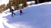 和孩子一起学滑雪:转向和控制速度