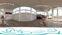「FroogVR」3D VR 两位美女瑜伽老师帮你上课囉