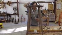 做一个胡桃木小凳子-大刘木工DIY工具坊