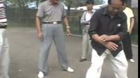 赵家清珍藏2000年8月陈伯祥宗师到黑龙江省绥化市教弟子们 珍贵视频陈氏小太极拳过度 架经典