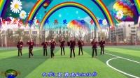 建群村广场舞《DJ现在的你》演示 建群姐妹花 制作 彩云追月 2016年最新广场舞带歌词