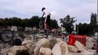 Abel Mustieles en el Bike Trial Parc Lleida