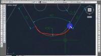 CAD教程:当心两点半径绘制圆与圆弧