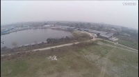 四川瑞航三旋翼无人机T600带三狗航拍视频2
