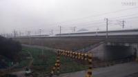 G86次 广州南~上海虹桥 CRH380A重联版 诸暨站高速通过