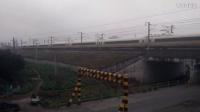 G1481次 南京南~贵阳北 诸暨站高速通过