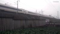 G1482次 长沙南~南京南 交会 G1633次 上海虹桥~福州 诸暨站附近拍车