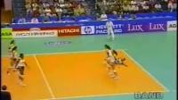 1995年世界女排大奖赛第4周G组第1轮(巴西VS日本)片段