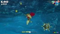 饥饿的鲨鱼世界 第1期:伯爵鲨 灵活的超小型鲨鱼 手机游戏 大白鲨世界
