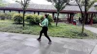 四川成都锦里公园《自玩太极拳》