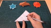【折纸-教程】折纸UP主教你一种五边形纸裁法