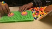 趣味玩具拼装第14期百变魔盘之电动车