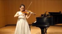 陈俪榆 11岁 小提琴 巴赫
