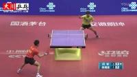 闫安vs梁靖崑【2016中国乒乓球超级联赛】电光球台