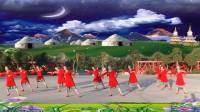 黄山紫纤广场舞《月夜》编队形版